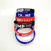Wholesale designer bangle cuff for sale - Group buy Trump For President Bracelet America Wrist Wraps Bangle Fashion Silicone Rubber Wristbands Cuff Men Womens bqa C2