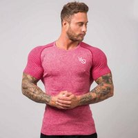 Wholesale running shirt for sale - Group buy Brand New Quick Dry T Shirt Mens Outdoor Sports Breathable Short Sleeve T shirt High Quality Man s Gym Running Tee Shirt