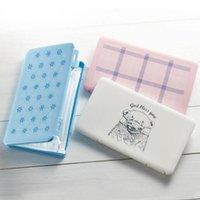 Wholesale plastic pollution resale online - Mask Case Disposable Face Masks Container Plastic Mask Storage Boxes Safe Pollution Free Masks Storage Organizer Bin DHF684