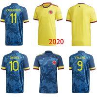 Wholesale colombia soccer jerseys resale online - NEWEST Men kids Colombia away soccer jersey JAMES copa america colombia football shirt FALCAO Camiseta de futbol maillo