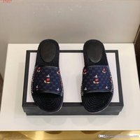 Wholesale moccasin slippers for men resale online - Fashion cool White dark blue and brown Scuffs Moccasins cartoon slipper shoes for men Men s leather fashionable slippers beach shoes