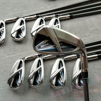 Wholesale New SM Golf Clubs Irons Set Golf Forged Irons Golf Irons pas R S Flex Steel Graphite Shaft With Head Cover