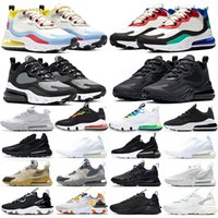 Wholesale trail running shoes for sale - Group buy 270 React Vision Men Women Running Shoes mens trainers Cactus Trails Triple Black white Bauhaus Optical Worldwide Sports Sneaker Size