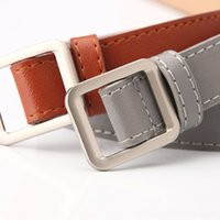 Wholesale 19 belts for sale - Group buy decorative fashion new women s jeans non hole Jeans Dress dress belt all match women s belt Bjrb2