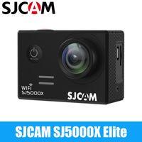 Wholesale electronic gyro for sale - Group buy SJCAM Original SJ5000X Elite Action Camera WiFi K fps K fps Gyro Sports DV LCD NTK96660 Waterproof Sports DV