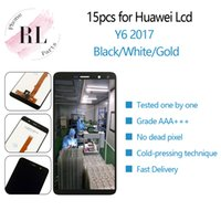 Wholesale 15PCS LCD for Huawei Y6 LCD display MYA L02 L03 L22 L23 replacement touch screen digitizer assembly