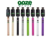 Wholesale Hottest preheat vape pen battery ozze dry herb vaporizer thread battery with charge