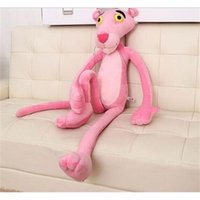 Wholesale cute pink panther for sale - Group buy Cute cm Pink Panther Stuffed Animals Lovely Pink Panther Plush Toys