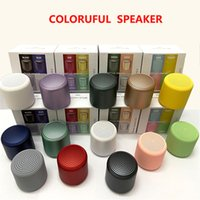Wholesale Inpods Little Mini Wireless Bluetooth Speakers Stereo Sound Dual Pairing BT5 TWS Outdoor Portable Mp3 Player Column Macaron Colors