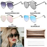 Wholesale quay sunglasses resale online - QUAY high KEY New classic double beam frame sunglasses for outdoor driving UV protection glasses