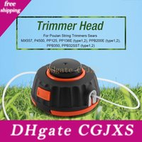 Wholesale bumps head for sale - Group buy Universal Nylone Line Bump Cutting Trimmer Head For Strimmers Replacement With Lines Brush Cutter Head Lawn Mower Accessories