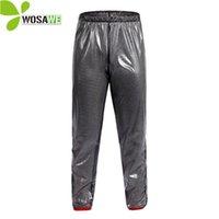 Wholesale rain pant men resale online - WOSAWE Cycling Rain Pants Waterproof Men Outdoor Clothing Cycle Tights Trousers Rainproof Sports Running Pants