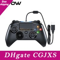 Wholesale ps4 and xbox one controller resale online - Mpow Wired Gamepads Game Led Light Gamepads Controller Usb Gamepad With And Trigger Bottouns Gamepads For Ps4 Ps3 Win Android Tv T191227