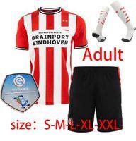 Wholesale red soccer sets for sale - Group buy 20 PSV Eindhoven Soccer Jerseys MALEN GAKPO DUMFRIES Football Shirt set BRUMA Men Kids Kit socks uniform