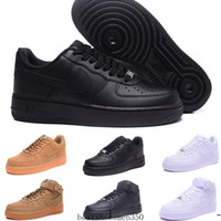 ingrosso porcellana di scarpe-air force 1 one Af1 Fashion Men Shoes Low One 1 Men Women China Outdoor Shoe Fly Royaums Type Breathe Skate knit Femme Homme 36-45 OPDD1