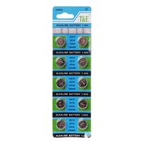 Wholesale cell battery ag13 resale online - Button Cell Batteries New Alkaline Battery AG13 V LR44 Button Coin Cell Watch Toys Batteries Control Remote SR43