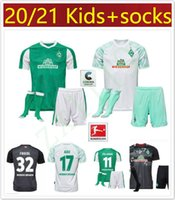 Wholesale men kids SV Werder Bremen third Soccer Jerseys kitS FRIEDL KLAASSEN SELKE RASHICA BARTELS Werder Bremen home Football shirts