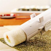 Wholesale plastic sushi for sale - Group buy Sushi Maker Roller Rice Mold Sushi Bazooka Vegetable Meat Rolling Tool DIY Sushi Making Machine Kitchen Tool