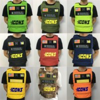 Wholesale hunting vest cotton resale online - In Stock Outdoor tactical vest sleeveless mens outdoor fashionable Hunting Game Oxford vest cm cm