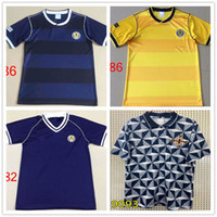 Wholesale ireland soccer jerseys resale online - RETRO Scotland Northern Ireland Soccer jersey GASCOIGNE LAUDRUP MCCOIST ALBERTZ football Dalglish Strachan Miller Souness