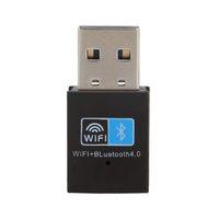 Wholesale external lan card for desktop for sale - Group buy USB Wifi Bluetooth Adapter M Wireless WiFi Network LAN Card Bluetooth V4 Dongle for Desktop Laptop PC