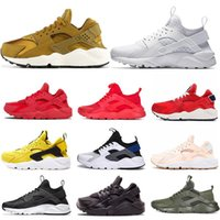 Wholesale huarache light ultra for sale - Group buy Ultra Huarache Triple s White Black Classical red men women Custom Running Shoes Huaraches Mens Trainers Sports Sneakers