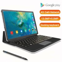 Wholesale tablet pc keyboard dock for sale - Group buy 11 Inch Tablet in Docking keyboard Tablet mAh Deca Core Android Pc G Lte Dual Camera MP MP