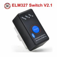Wholesale obd2 scanner sale for sale - Group buy Top Sale Super Mini ELM327 Bluetooth With On Off Power Switch ELM OBD2 Diagnostic Scanner Support Multi Brand Cars