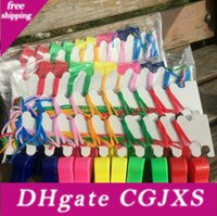 Wholesale sport chic for sale - Group buy New Colorful Lovely Chic Plastic Whistle Cheap Popular Noise Maker Sport Game Party Christmas Whistles Lx3418