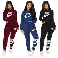 Wholesale slimming yoga pants resale online - Casual Brand Women Pants Set Female Piece Relaxed Outfits T Shirt Pencil Pants Suit Tie Dye Letter Two Piece Sets Tracksuit Sweatsuit