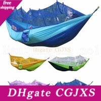 Wholesale camping tents for sale - Group buy Mosquito Net Hammock Colors cm Outdoor Parachute Cloth Field Camping Tent Garden Camping Swing Hanging Bed Ooa2117