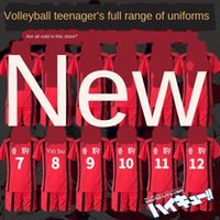 Wholesale high school sports jerseys for sale - Group buy Volleyball Junior High School Sweatshirt sweatshirt black tail iron Lang solitary claw grinding cosplay sports jersey BEonf