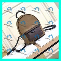 Wholesale metallic backpack for sale - Group buy backpack mochila leather mini backpack men fashion men backpacks mens women backpack Sac à main sac a dos zaino bookbag rucksack mochilas