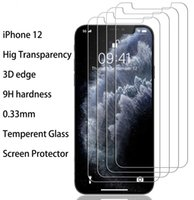 Wholesale glossy screen guard for sale - Group buy 0 mm Tempered Glass Screen Protector for iPhone Pro Max High Transparency D Edge H Hardness Screen Guard