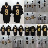 Wholesale football jerseys thomas resale online - Drew Brees Alvin Kamara Taysom Hill Marshon Lattimore New Orleans Saints Thomas Football Limited Jersey