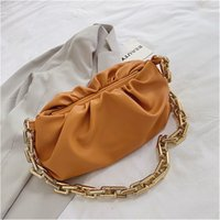 Wholesale lemon drop resale online - Naivety PU Leather Fashion Women Handbag Personality Round Lemon Shaped Shoulder Bag Zipper Purse S70105 Drop Shipping