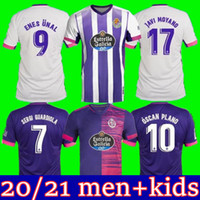Wholesale TOP Real Valladolid soccer jersey FEDE S R Alcaraz oo Sergi Guardiola Óscar Plano camisetas de fútbol men kids FOOTBALL SH