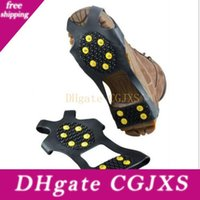 Wholesale claws shoes for sale - Group buy Non Slip Shoe Spikes Fashion Safe Claws Snow Ice Climbing Shoe Spikes Grips Winter Outdoor Skiing Gripper Wy334