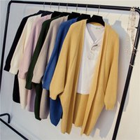 Wholesale coats low prices for sale - Group buy 2020 new women s coat Korean style mid length women s low Coat sweater sweater price unnSb