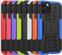 Wholesale chinese g9 resale online - Case For LG Stylo Stylo6 K51 G9 K51S K41S V60 Dazzle ShockProof Rugged Hybrid Armor Hard PC TPU Heavy Anti Skid Dual Color Phone Cover