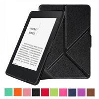 Wholesale ebook reader for sale - Group buy Flip Transformers Leather Cover Smart Case For Amazon Kindle Paperwhite Inch Kindle Paperwhite Ebook Reader Cases