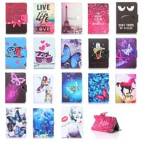 Wholesale cartoon covers for tablets for sale - Group buy Cgjxs Universal Design Cartoon Adjustable Flip Pu Leather Stand Case Cover For Inch Tablet Pc Mid