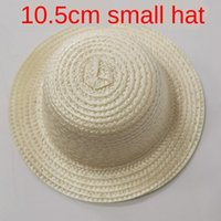 Wholesale mini hat diy for sale - Group buy Small DIY straw straw hat mini toy CM hand woven pet mini bear doll DIY small hat