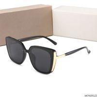 Wholesale new summer glasses resale online - Mens Luxury Square Pilot Sunglasses gold brown Gradient Titanium Designer Fashion Brand Drive Sun glass Eyewear Summer New with Box