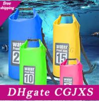 Wholesale waterproof bag 15l for sale - Group buy Ultralight Seal Rafting Bag Portable Waterproof Bag For Outdoor Hiking Rafting Swimming Kits Dry Tube Storage Bags l l l l l