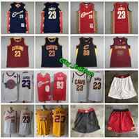 Wholesale jersey cavaliers resale online - Vintage Men s Cavaliers LeBron James Retro Classic Jersey Authentic Mitchell Ness LeBron James Stitched Basketball Jersey Shorts