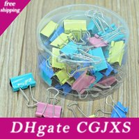 Wholesale paper clips for sale - Group buy 25mm Folder Clip Paper Note Clips Windproof Cloth Clamp Colorful Note File Retaining Clip For Organizing Household Helper