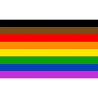 drapeaux nations achat en gros de-3x5fts 90x150cm Philadelphia phily Straight Ally Progress LGBT Rainbow Gay Pride Flag 8 styles Stripe Nation Flag HH9-3234