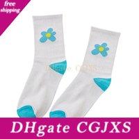 Wholesale knee high golf socks resale online - Beauty Flower Socks Golf Long Tube Stockings Women S Classics Knee High Socks Sport Long Socks