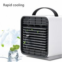 Best Mini Portable Air Conditioner Multi function Humidifier green Sale Online Shopping  